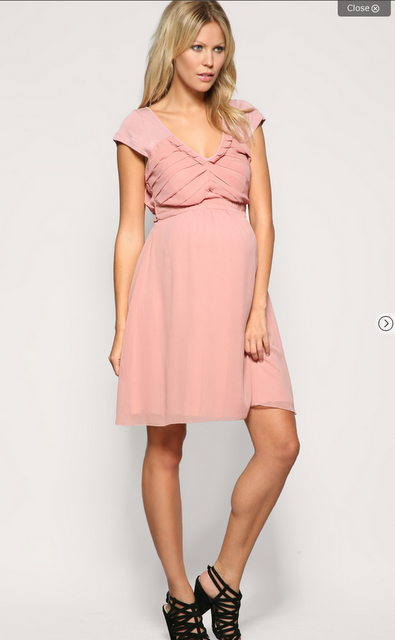 Pink Maternity Bridesmaid Dresses 119