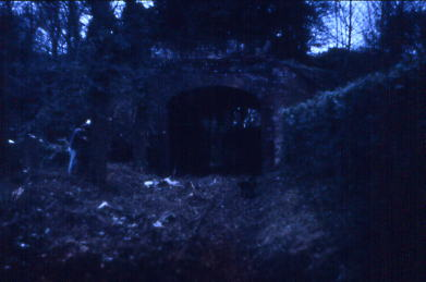 Tunnel through ramparts 1986