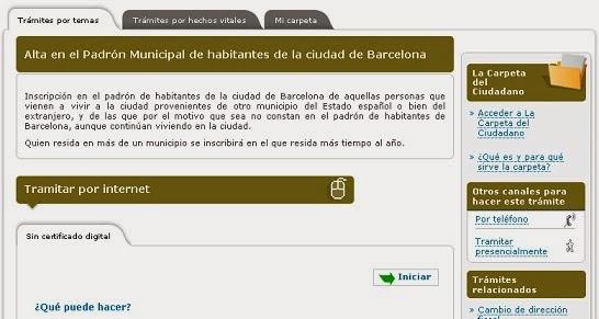 Qu se necesita para empadronarse - Oficina de empadronamiento barcelona ...
