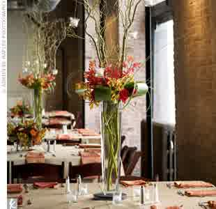 Tall Vases For Cheap Wedding Centerpieces Idea