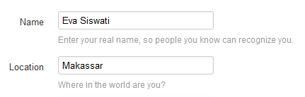 ganti nama akun twitter anda