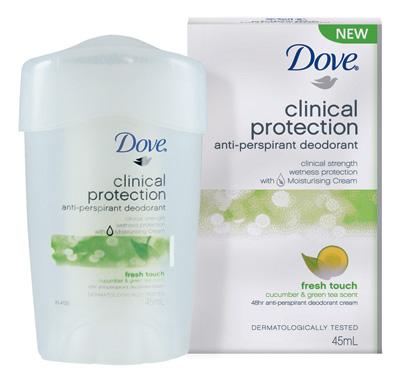 Dove coupons deodorant