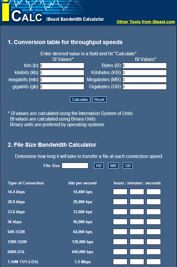 create video notebook bandwidth experiement using icalc bandwith calculator. Black Bedroom Furniture Sets. Home Design Ideas