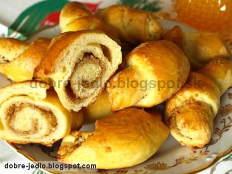 Medové rožky - recepty