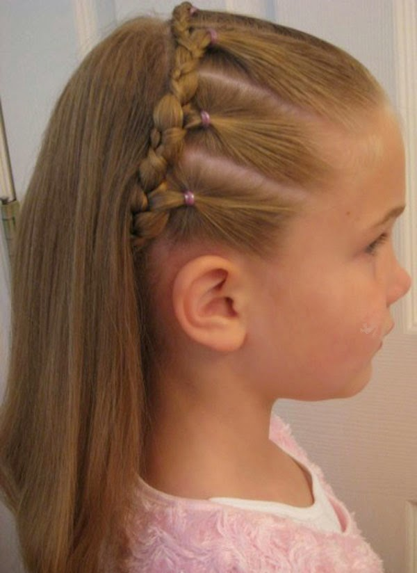 kids hairstyle for wedding