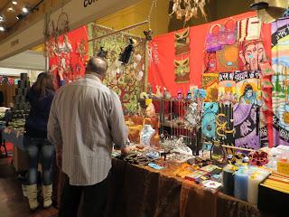 Tienda en el Encuentro Esotérico de Sevilla