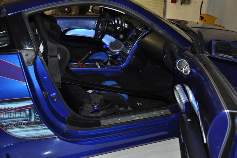 nissan 350z modified interior