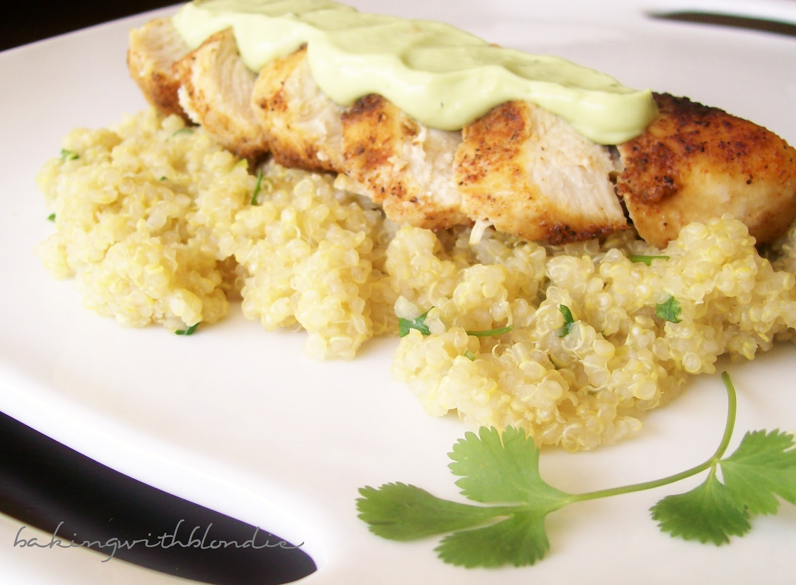 Baking with Blondie : Blackened Chicken and Cilantro Lime ...