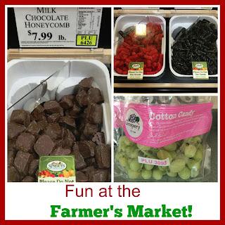 Fun at the Farmer's Market