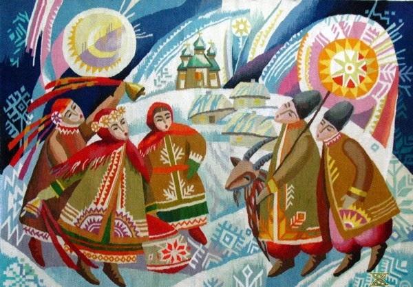 Коляда. Украина
