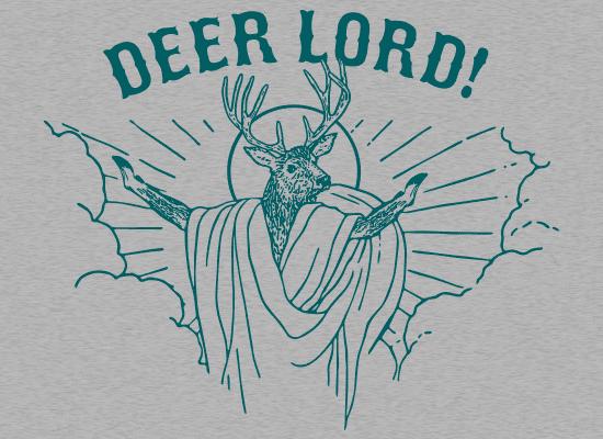 http://www.snorgtees.com/t-shirts/deer-lord