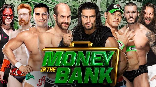 pelea de wwe por el maletin de dinero en el banco, wwe campeonato mundial peso pesado money in the bank