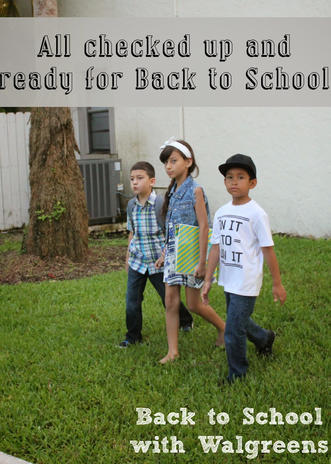 All checked up and ready for back to school! #WalgreensLatino #shop