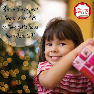 Operation Santa has distributed more than 1.8 million gifts