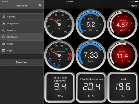 Elm327 wifi 21 obdii obd2 car diagnostic code reader