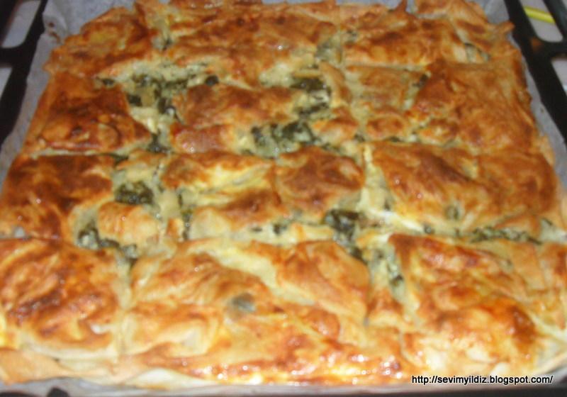 Ispanaklı Börek Tarifi – Kolay Yemek Tarifleri