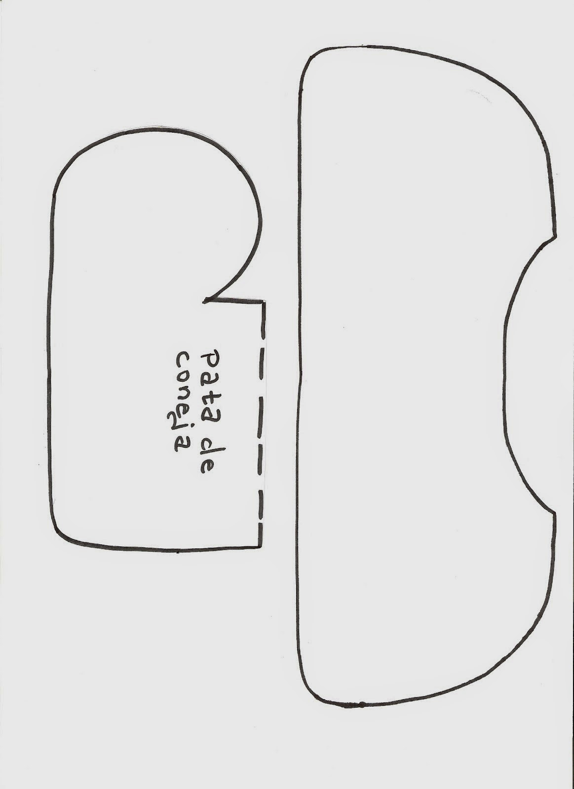 Moldes jogo de banheiro de coelhinha