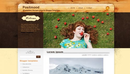 Positmood Blogger Templates