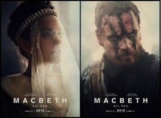 Carteles de Macbeth (Justin Kurzel, 2015) con Michael Fassbender y Marion Cotillard