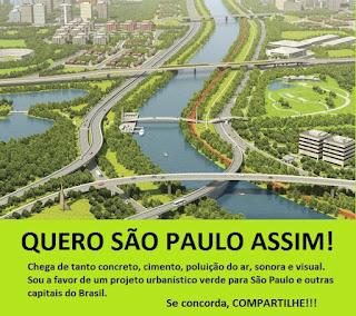 São Paulo pode ter mais áreas verdes e ser mais sustentável