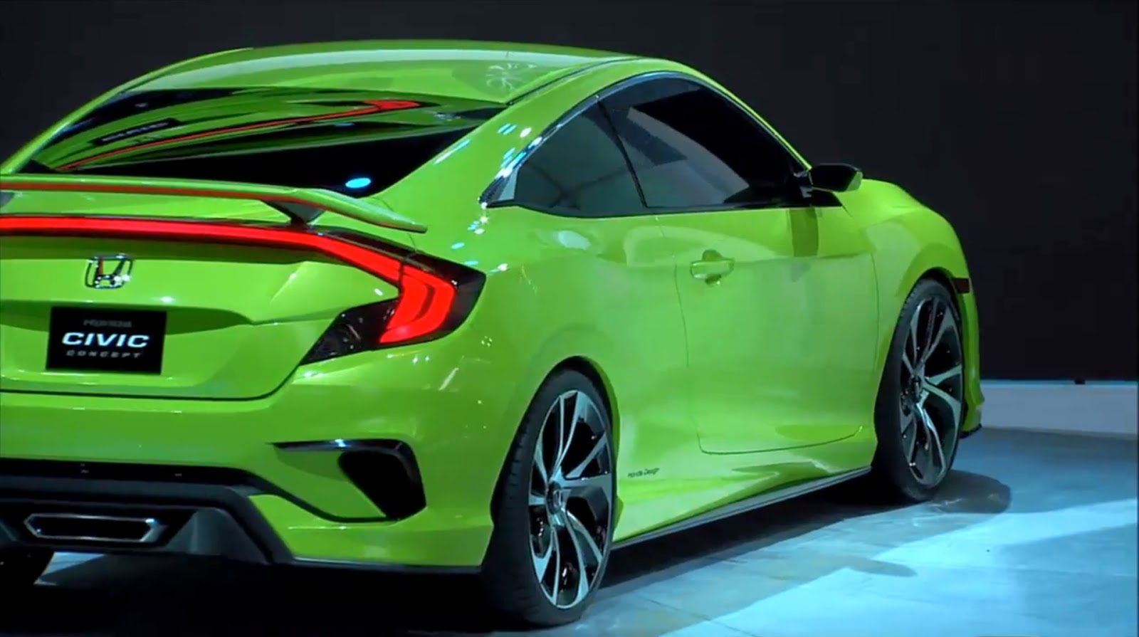 "New Honda Civic Concept Previews ""Epic"" 2016 Production ..."
