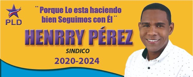 HENRRY PEREZ -SINDICO- 2020