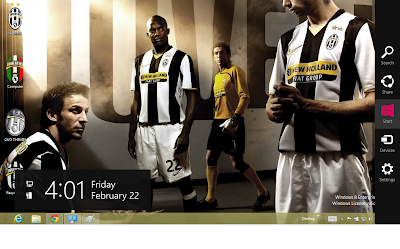 Download Juventus Fc Windows 7 Theme, Juventus Wallpaper