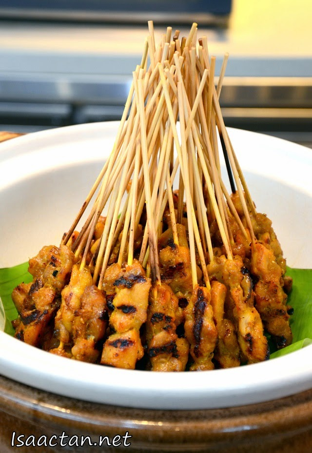 One of my all time favourite, chicken satays!