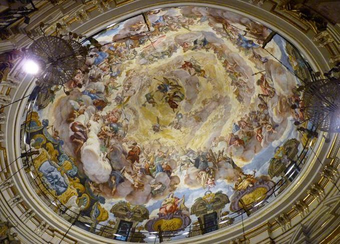 Basílica de la Virgen de los Desamparados.