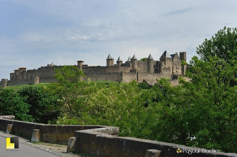 Carcassonne la cité et le château blachier pascal