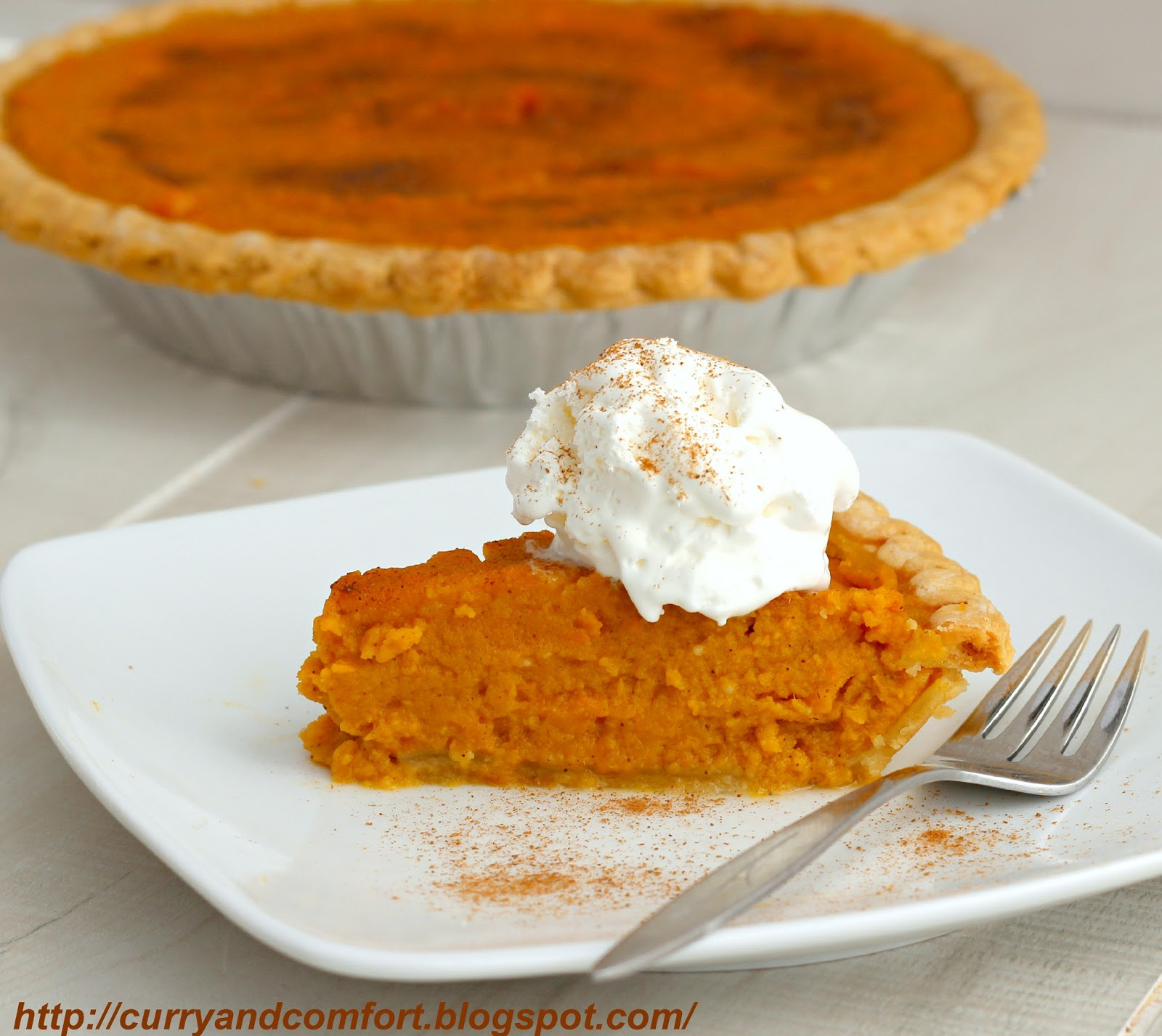 Curry and Comfort: My oh My, Sweet Potato Pie