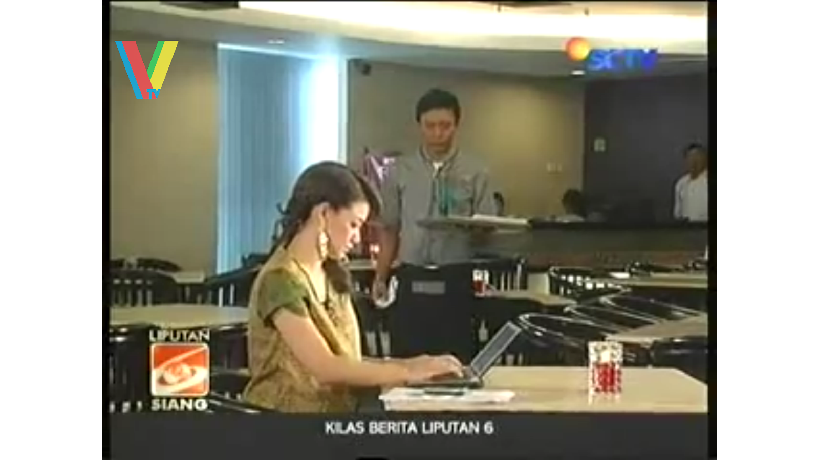 Indonesian TV Live News Blooper