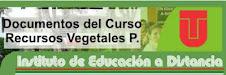 Documentos del curso RECURSOS VEGETALES PROMISORIOS IDEAD 2013-A