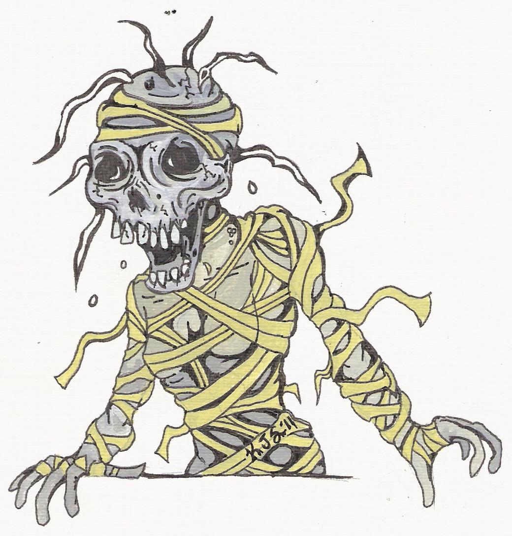 Mummy Tattoo Icmeler
