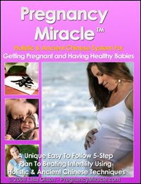 Pregnancy Miracle - presenting a 5-step, sure-fire, 100% guaranteed, clinically proven holistic and ancient Chinese system for permanently reversing your infertility and your partner's infertility disorders and getting pregnant quickly, naturally
