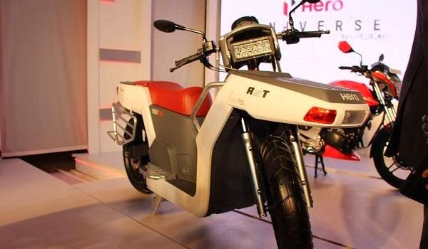 Hero RNT motorcycle