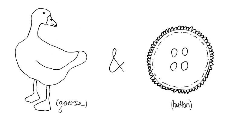 goose/button!