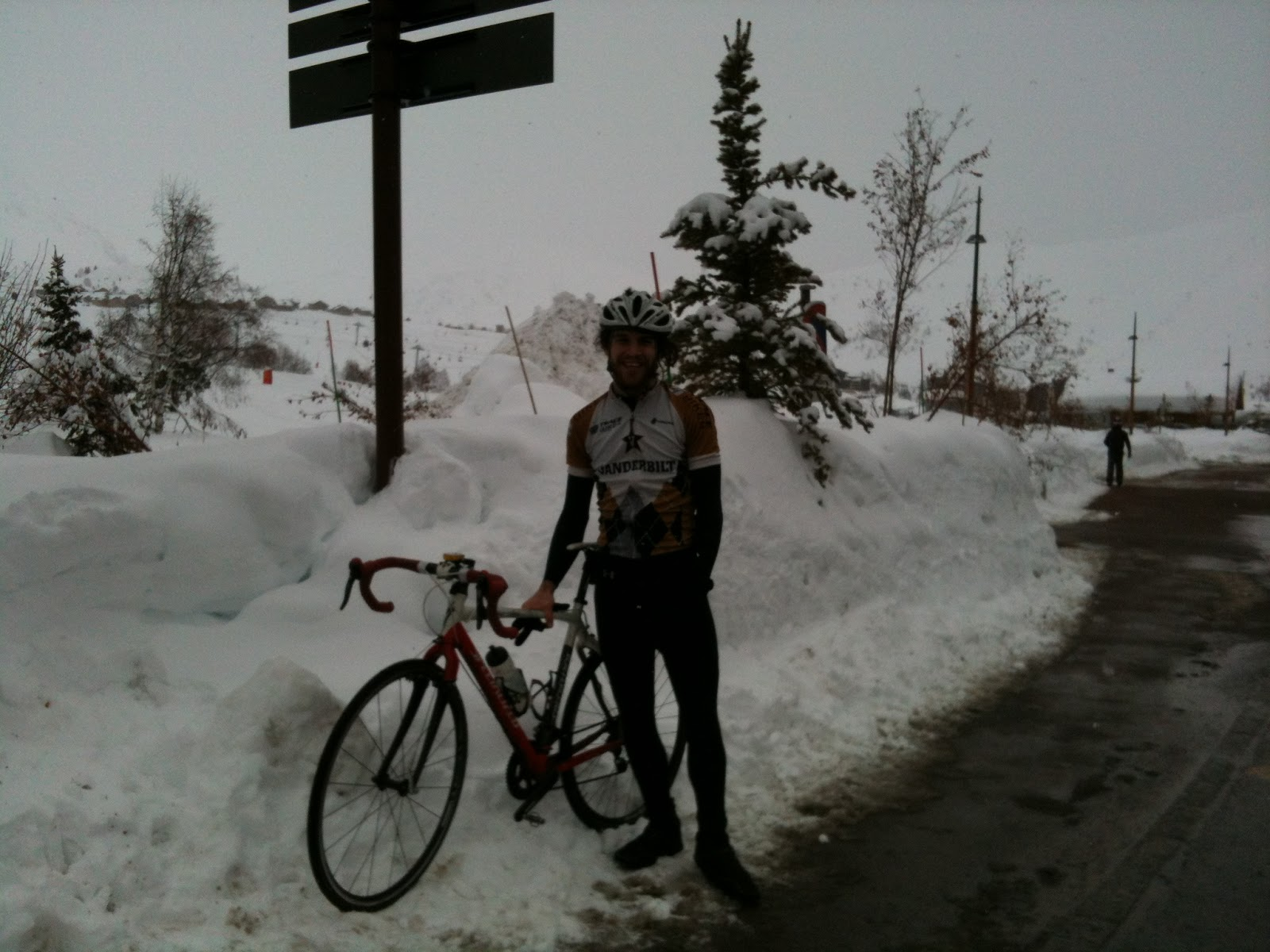 me on Alp d'huez a few days before christmas