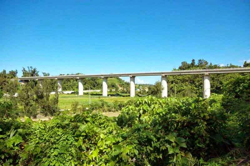 Kin Bridge in Okinawa