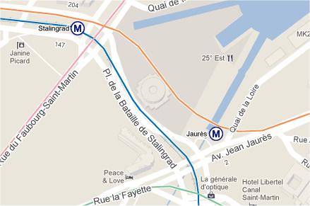 capture d'écran Google Maps