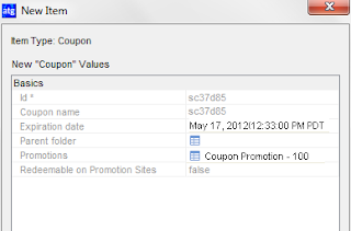 Associted Promotion and Expiry Date for Coupon