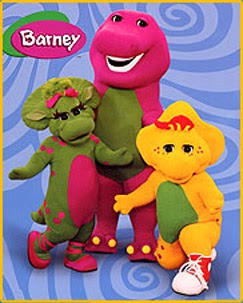 the cartoon funny barney friends american children s television
