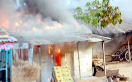 10 Houses Burnt In Benue, 5 Killed