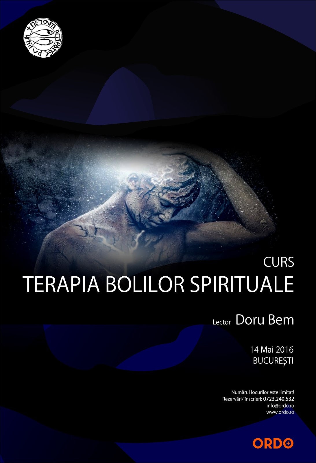 CURS INTENSIV - 14 MAI 2016 - TERAPIA BOLILOR SPIRITUALE