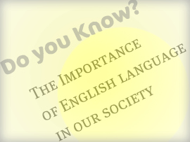 essay-importance of english as an international language