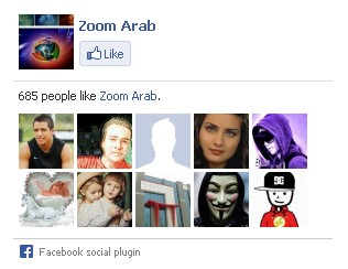 صندوق اعجاب الفيسبوك