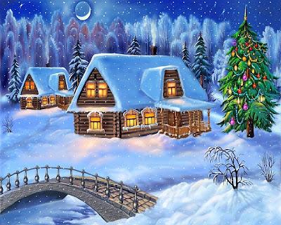 paisajes navideños