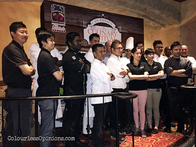 US potato culinary festival kl 2015 launch chefs