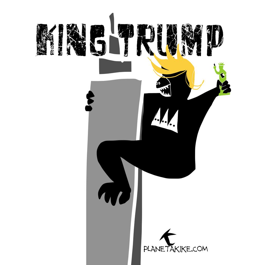 Trump de acuerdo a Kike Estrada