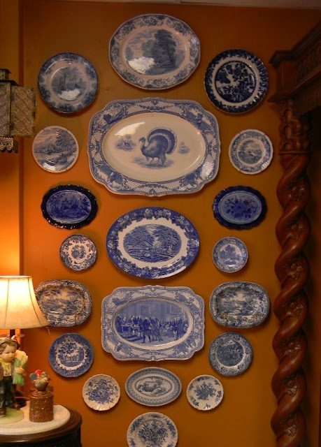 Nancys Daily Dish Dining Room Toile